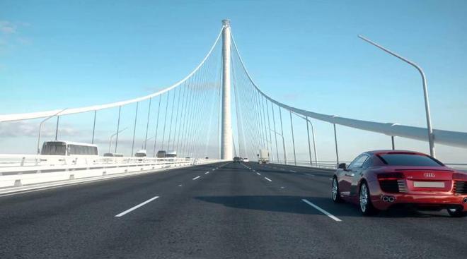 中國又一跨江大橋,造價五百億,深圳即將成為最大的贏家!
