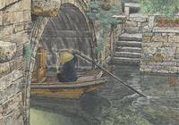 上善若水,至美是水——呂吉人畫中的江南水鄉