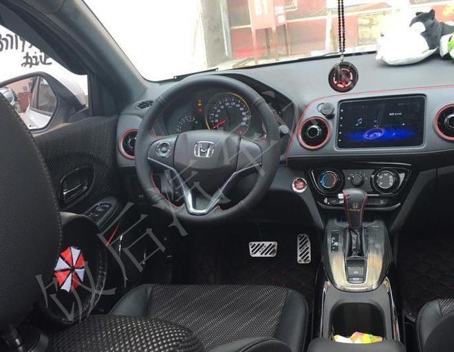 河南車友花15萬買輛全新本田XR-V,小型SUV空間真的不小