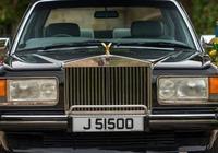 請回答1989 勞斯萊斯銀靈老爺車微開箱