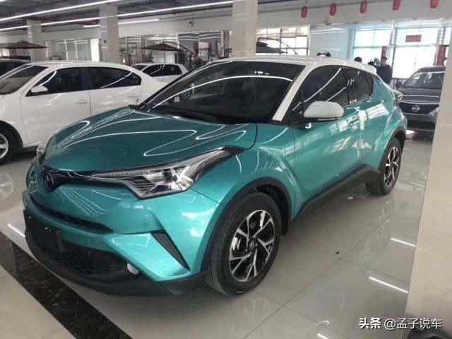 16萬喜提豐田C-HR,車主:等了2個月才有現車,外觀很喜歡