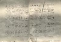 《每日一謎刊》1983年江西九江《匡廬謎苑》