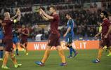 足球——意甲聯賽:羅馬勝薩索洛