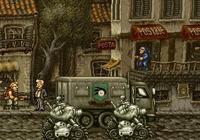 《合金彈頭》中的NPC就沒有一個正常的,洗衣服的老太太都是特工