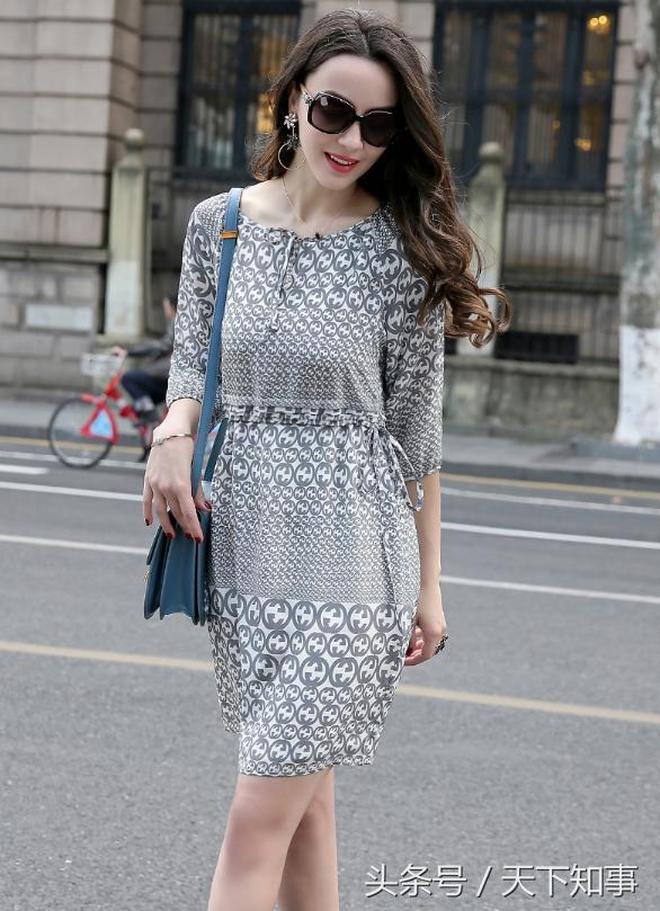 優雅出眾的裙子,文藝顯洋氣,比T恤襯衫更好穿,70後的女人穿上倍顯年輕!