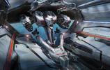非常有視覺衝擊力的一組機械機甲插畫作品!很有看科幻大片的感覺