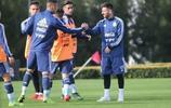 梅西回到阿根廷國家隊,梅西備戰即將到來的美洲盃