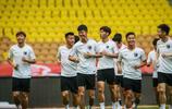 天津天海將士在客場備戰,中超第11輪天津天海客場對陣武漢卓爾