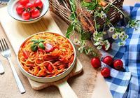 羅勒番茄意麵#給老爸做道菜#