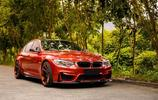 實拍薩基爾橙色的BMW M3,這種顏色你們肯定很少見過