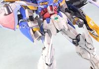 高達模型 MG 死神EW 改造噴塗作品