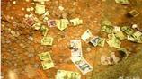 """雷峰塔被遊客扔成""""錢山"""",每年清理兩萬多元,景區苦惱不堪求網友支招"""