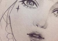 34個手繪白描線稿,動漫+言情風女孩,抱走臨摹上色吧