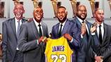 NBA總得分榜前10湖人佔了6個,不愧為聯盟歷史第一豪門