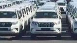 全新豐田普拉多大量運抵國內,入門車型35萬起售,大眾途昂慌了!
