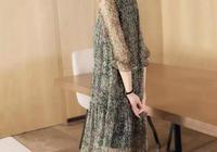 """今年超浪漫的裙子,""""印花""""連衣裙,30-54歲女人穿,精緻典雅"""
