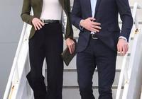 36歲凱特王妃一改甜美風,橄欖綠西裝配闊腿褲,氣場兩米八