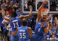 NBA現役只有哈登、杜蘭特、威少三人單賽季得分2500+,三人如果不分開,能奪冠嗎?