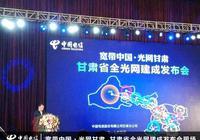 """甘肅在西北地區率先建成""""全光網省"""""""