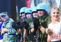 《中國藍盔》展現維和軍人風采 真槍實彈拍攝還原真實的戰場