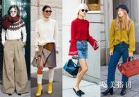 一件高顏值舒適毛衣可以美翻整個秋冬