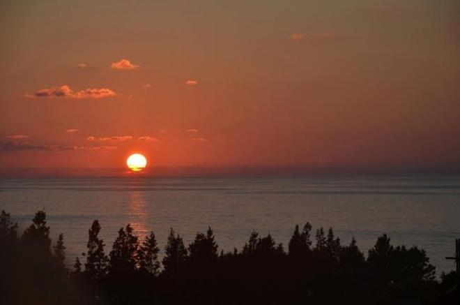 日出日落 高爾夫 山水亦是無限的風景,但卻是求之不易