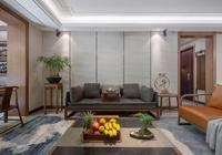 190㎡新中式,60㎡私家花園,裝修造價108萬,大氣!