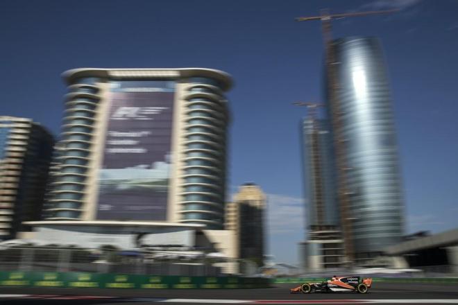 賽車——F1阿塞拜疆站練習賽