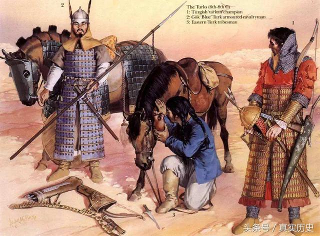 古代中國的白種人,唐太宗和他們一個祖先,唐武宗認其為皇室