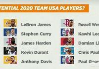 ESPN預測了了明年參加奧運的10人名單,詹姆斯和庫裡領銜,你認為陣容實力如何?