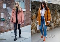 時髦新潮的羊羔毛外套,時尚與溫暖並存的休閒裝搭配首選