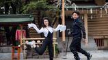 鄒市明和嬌妻520大秀恩愛,冉瑩穎這一身裝扮可酷可甜,美翻了