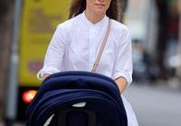 凱特王妃妹妹變美啦!穿清新白裙出街遛娃,35歲的她竟有了少女感