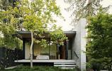 住宅設計:有石板庭院和竹子做裝飾的大型住宅,裝飾感超強的美宅