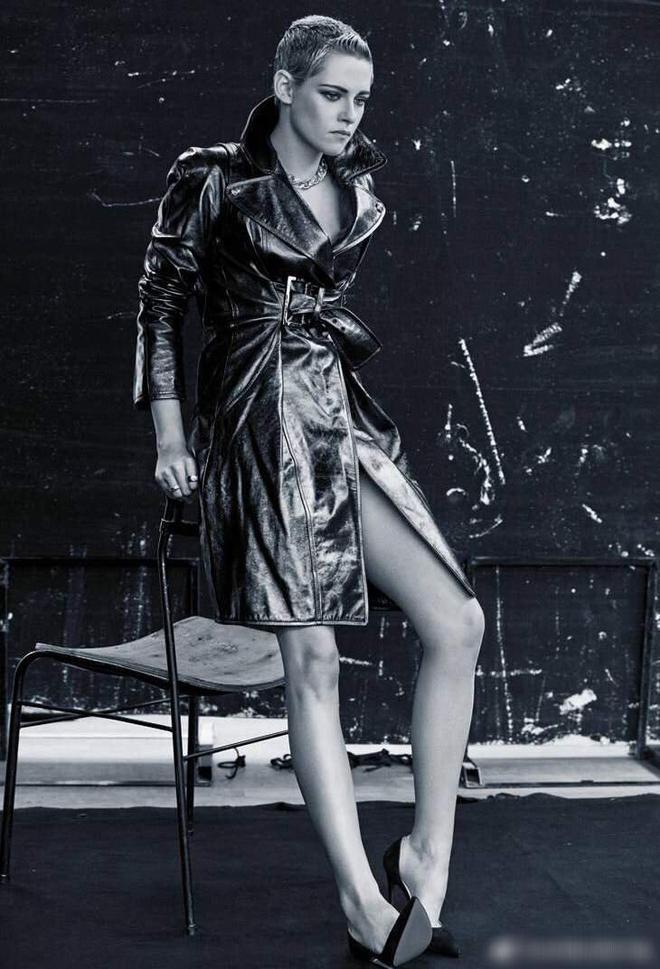 克里斯汀時尚大片,超模氣質撲面而來,這股帥勁秒殺了多少男生