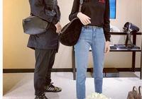 沈夢辰杜海濤的情侶裝,穿得低調也很甜,造型這麼般配絕對是真愛