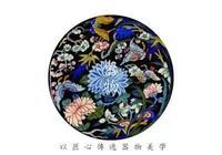 刺繡|獨坐紗窗刺繡遲,紫荊花囀黃鸝