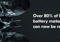 芬蘭清潔能源公司使鋰電池回收率達80%以上