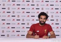 官方:利物浦簽下羅馬邊鋒薩拉赫