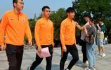 王大雷、劉軍帥、劉彬彬等山東魯能球員參加主題黨日活動