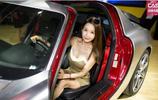 上海改裝車展模特