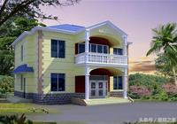 二層新農村別墅,農村自建房設計