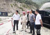四川省水利廳水資源處到天全縣查勘青衣江流域水量調度
