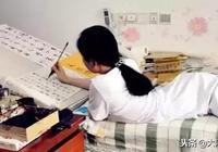 5歲車禍:不能坐站只能臥,一手好字入中書協,被評為中國好人