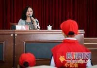 兒童文學作家楊紅櫻來威海講學