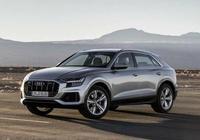 實拍對比|全新奧迪Q8和寶馬X7 百萬級轎跑SUV比拼王者風範