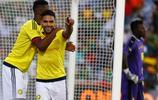 足球——國際友誼賽:哥倫比亞勝喀麥隆