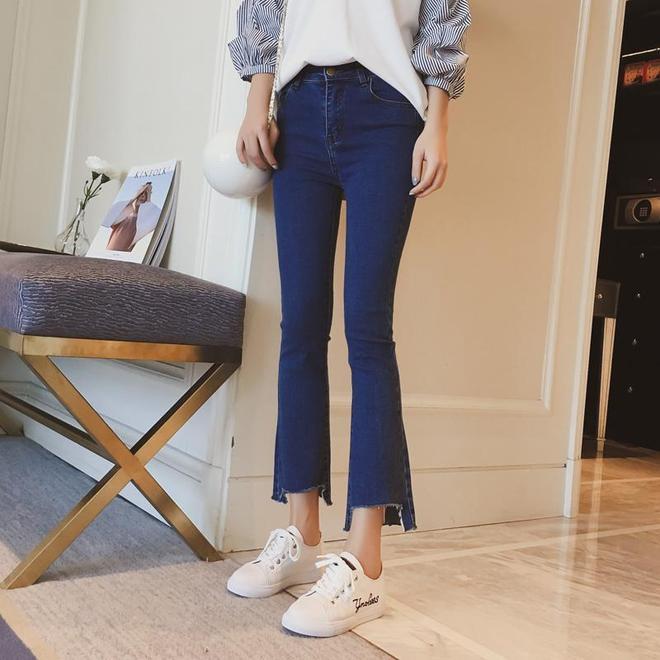 秋意漸濃,這些長款牛仔褲已為你準備好,穿上青春減齡少女感十足