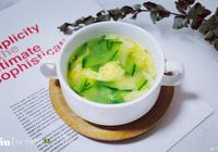 快手黃瓜蛋花湯的做法