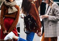 焦糖色秋冬正流行,盡顯時尚質感,演繹潮流經典和復古風情